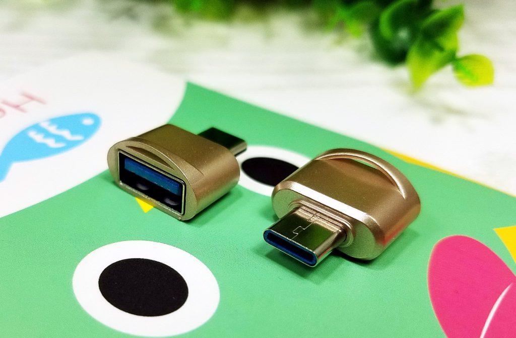 OPPO R17 findX连接U盘用的转接头Type-C接口插图(1)